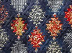 Japanese Lantern Quilt/ I like that they switched up the fabric ... : chinese lantern quilt pattern - Adamdwight.com