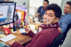 I love living at my workstation royalty-free stock photo