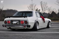 The AMAZING SAKURA RACING Nissan C210 Skyline found at Nagoya