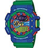 AmazonSmile: Casio G-Shock Blue Dial Turquoise Resin Quartz Men's Watch GA400A-2A: Casio: Watches