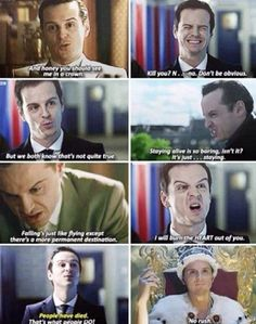 Moriarty is fantastic.