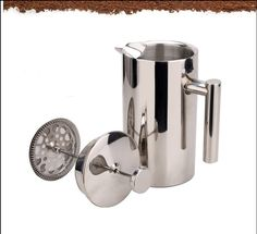 Hot New Kitchen Gear Sale: 1pc 350/750/1000ml stainless steelFrench Press/coffee plunger See the Deal: http://confer.com.au/products/1pc-3507501000ml-stainless-steelfrench-presscoffee-plunger/