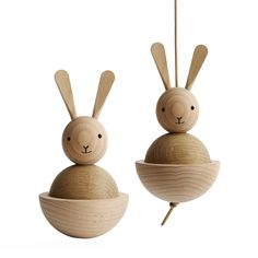 Easter basket idea: Bunny toy from OYOY at Design Life Kids