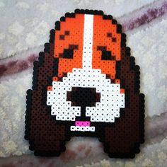 Dog hama perler beads by selenkarol_pysslabeads