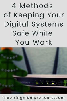 We are living in a digital world and this has created the need for digital safety measures. Here are 4 ways you can keep your digital systems safe. #keepingdigitalsystemssafe #cybersecurity #manageditsupport #dataprotection