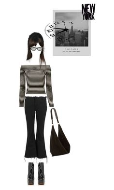 """ready for the city that never sleeps"" by piplusc ❤ liked on Polyvore featuring Meggie, Anja, Marques'Almeida, Marc Jacobs, 10 Crosby Derek Lam, Gucci and The Row"