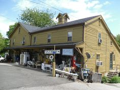 Greiser Store & Deli, Antiques, Easton, Connecticut | (pinned by haw-creek.com)
