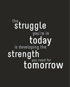 Small daily improvements show long-term results, don't let the struggle of today get you discourage. #PGClinicalisheretohelp