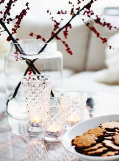 The first day of December, so it's time to eat gingerbread cookies and light some candles, right?