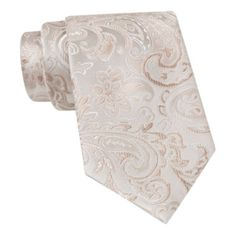 Stafford® Tonal Paisley Silk Tie  found at @JCPenney