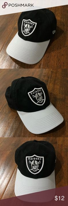 Oakland Raiders Cap - New Era - One Size Strapback bdd29b5613b
