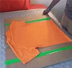 How To Fold A T-Shirt :-) Clever. I need to make one of these!