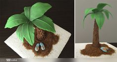 Your Cake. Tutorial Palmera