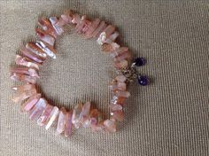 Art of Jewellery - #SharonStone  #rosequartz #amethyst #necklace
