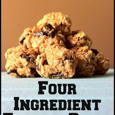 Clean Eat Recipe :: Four Ingredient Energy Bites ~ He and She Eat Clean