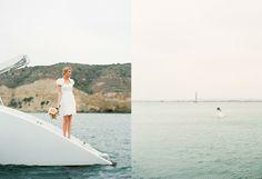 Bridal portrait - John Schnack Photography onboard Aolani Catamaran in San Diego, CA www.aolani.cc