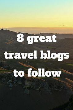 Need some new travel inspiration, photography tips, and excellent writing? Check out The Global Couple's favourite travel blogs!
