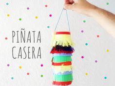 DIY: PIñata, Easy Piñata http://manualidades.euroresidentes.com/2014/08/diy-como-hacer-una-pinata-facil-y-rapido.html