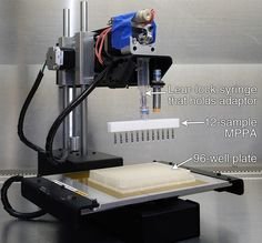 3D Printer Hacked to Perform Fast and Cheap DNA Sequencing Scientists at AI Biosciences, a company out of College Station, Texas, modified a 3D printer to perform automated nucleic acid extraction and DNA amplifica
