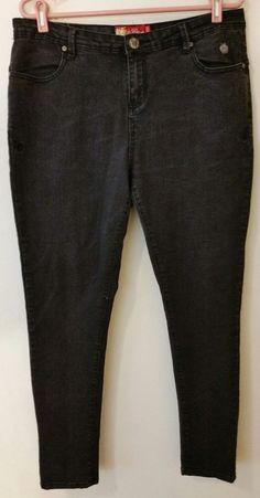 5b39516417e Apple bottoms women s skinny leg jeans plus size 14-24 new script pocket new