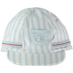 Knighton School Boy Style Blue Striped Ca