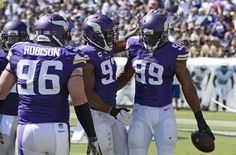 Vikings score 2 TDs off turnovers in beating Titans 25-16 (Sep 11, 2016) | FOX…