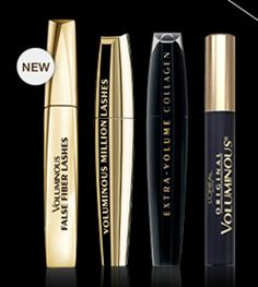 loreal mascara....the second one...just awesome....I've been using loreal mascaras since 10 years ago and I would never change it :D