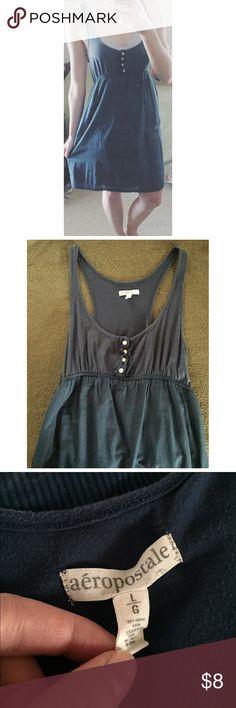 Aeropostale Casual Dress I call this my milk maid dress - Normal wear - SUPER COMFY - knee length. Aeropostale Dresses