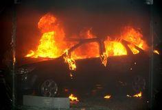 Ρέθυμνο: Μπαράζ πυρκαγιών σε αυτοκίνητα και μοτοσυκλέτες