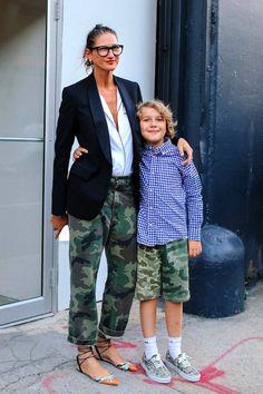 Jenna Lyons Shows How To Pull Off Camo Print Pants | Le Fashion | Bloglovin'