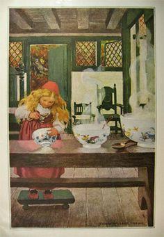 Jessie Wilcox Smith, Goldilocks.  Brandywine River Museum.