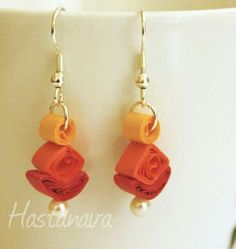 Shopo.in : Buy Quiling Hanging Earrings online at best price in Mumbai, India