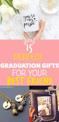 Can someone please tell me why buying gifts for your best friend is the hardest thing in the world? You all know each other better than anyone else, so why is it so difficult to know what they want as a present? If one of your besties is graduating this month, then you're probably facing this dilemma right now. Picking out the perfect graduation gift for your best friend can be really tough. Grad gifts tend to be cliche and a little bit boring, and there's also so much to say!