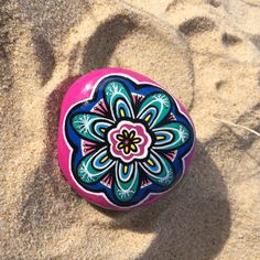 Hand painted stones, hand painted rock, stones, mexican painted stones, mandala rocks, mandala stones