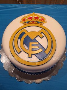 Real Madrid Birthday Cake - by Mari's Boutique Cakes