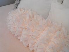 Susie Harris: DIY ruffle pillows