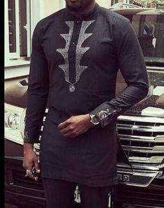Men African Wear Men African Attire African Men by MaDeInAfrikaGh: