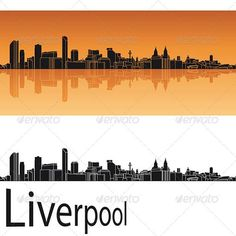 Liverpool skyline in orange background in editable vector file Created: 7May13 GraphicsFilesIncluded: LayeredPNG #JPGImage #VectorEPS Layered: Yes MinimumAdobeCSVersion: CS Tags: architecture #backgrounds #black #building #city #cityscape #destination #downtown #england #greatbritain #horizon #illustration #isolated #landmark #landscape #liverpool #metropolis #orange #outline #panorama #place #reflected #silhouette #skyline #skyscraper #tower #travel #urban #vector #white