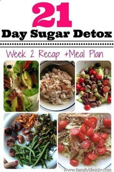 21 Day Sugar Detox Week 2 Recap | Our Knight Life #21dsd