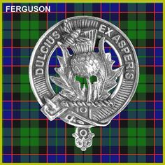 FERGUSON Clan Crest Badge CB02 by celticstudio on Etsy, $22.98
