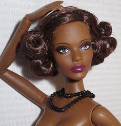 (B) NUDE BARBIE (B) ~ AA PIVITOL CLAUDETTE GORDON MODEL MUSE DOLL FOR OOAK #Mattel
