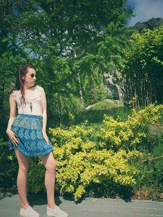 Short Skirts, Mini Skirts, Bohemian Clothing, Bohemian Print, Boho Skirts, Festival Outfits, Printed Skirts, Skirt Outfits, Boho Fashion