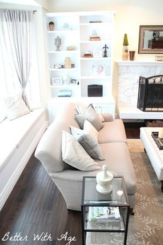 Better With Age: Living Room - Before and After