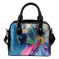 Irish Wolfhound Lizzy Shoulder Bag