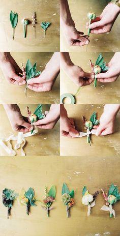 DIY Boutonniere