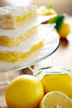 Lemon Bars (the recipe for the ones in the picture)