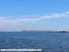 Le fleuve St-Laurent à bord de nos bateaux Zodiac offre une vue spectaculaire !