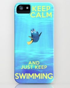 Finding Nemo (stay calm and just keep swimming) iPhone 4&5 Case