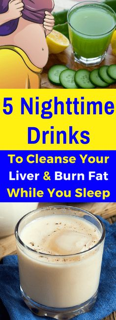 Liver Cleanse Detox 5 Nighttime Drinks To Cleanse Your Liver and Burn Fat While You Sleep – Fitnez Feed Liver Detox Cleanse, Detox Your Liver, Detox Diet Plan, Kidney Cleanse, Liver Detox Drink, Detox Tea, Tumeric Detox Drink, 5 Day Cleanse, Bowel Cleanse