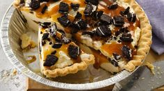 Cool off with an easy ice cream pie.  Frozen pie crust makes preparation a breeze!